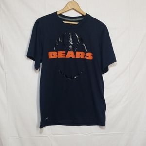 Chicago Bears NFL Nike shirt Blue Small
